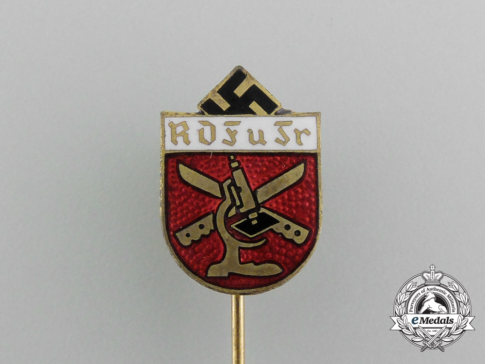A German Scientific Research Service Miniature Badge