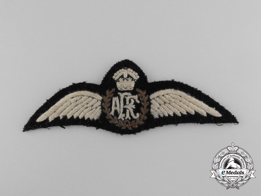 A Rare & Possibly Unique Air Royal Force (ARF) Pilot Wings c.1918