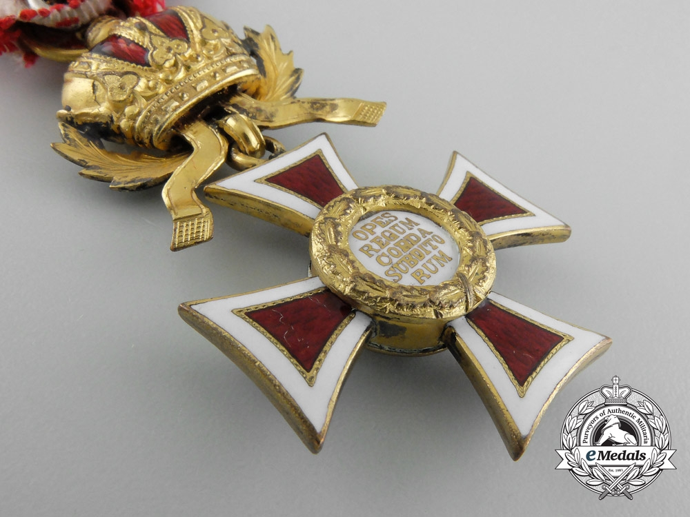 Austria, Empire. An Order of Leopold, Knight's Badge, c.1917