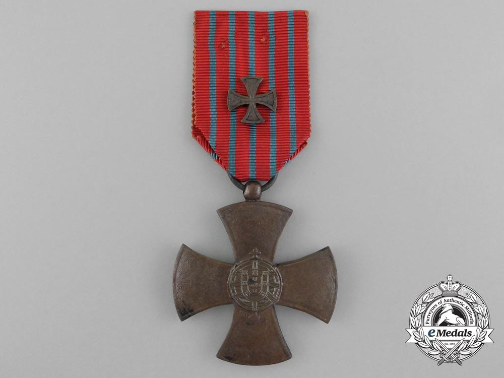 Portugal, Republic. A War Cross