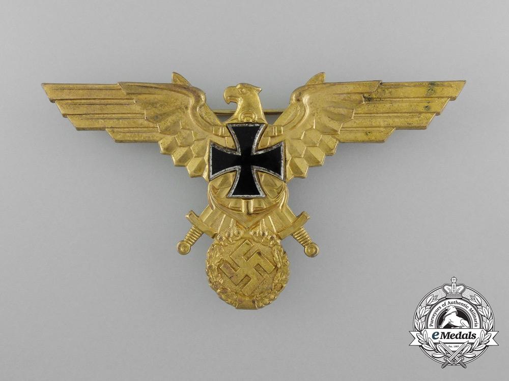A First War German Kriegsmarine Veteran's League Breast Eagle