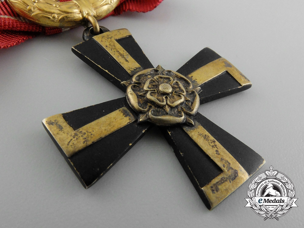 A Finnish Order of the Cross of Liberty; Fourth Class 1940