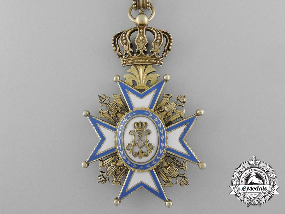 A Serbian Order of St.Sava; 3rd Class Commander,