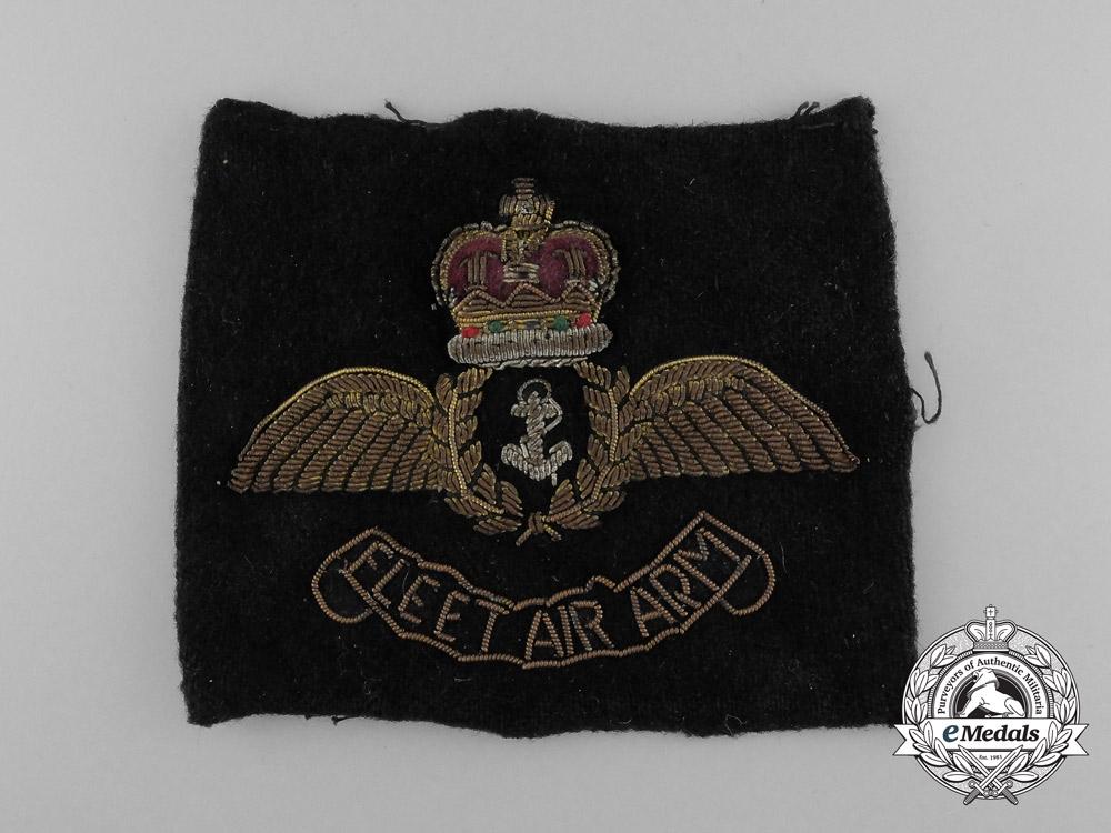 United Kingdom. An Early QEII Fleet Air Arm Insignia Patch