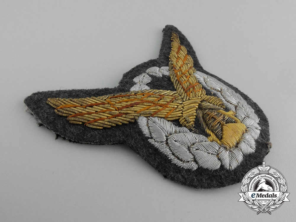A Very Fine WW2 German Made Slovakian Day Fighter Pilot's Badge