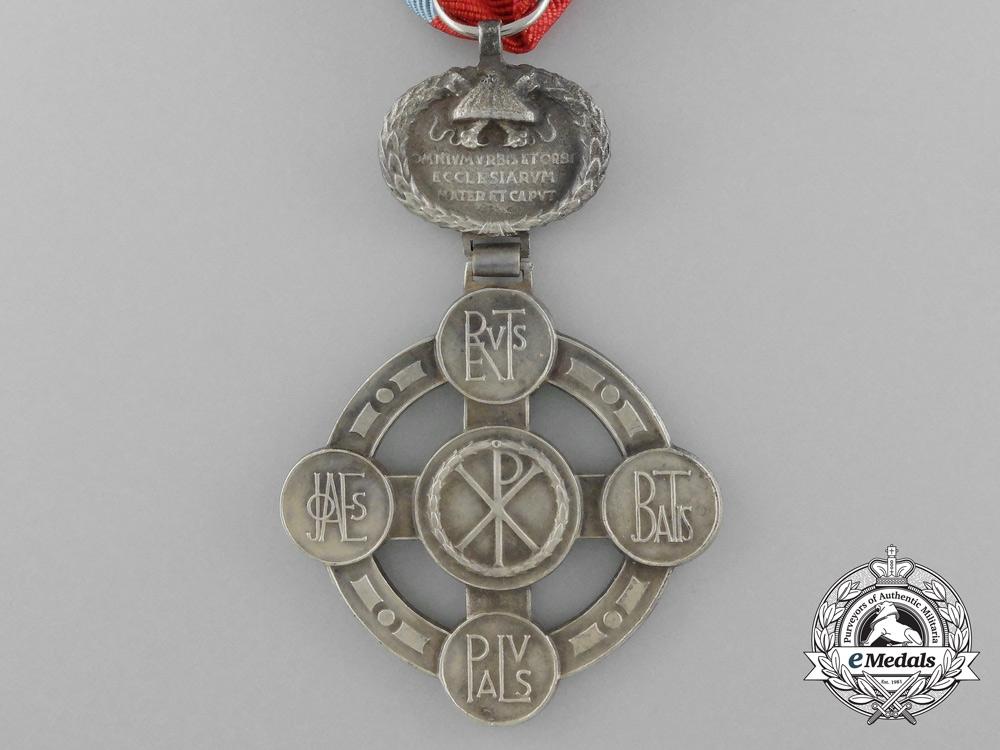 Papal Lateran Cross - Silver Grade