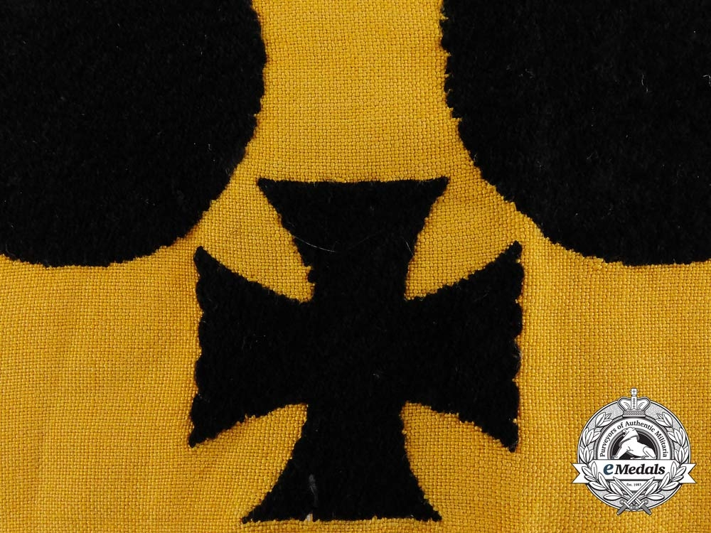 A Rare Early Pattern Second War German Armband for Blinded Combatants