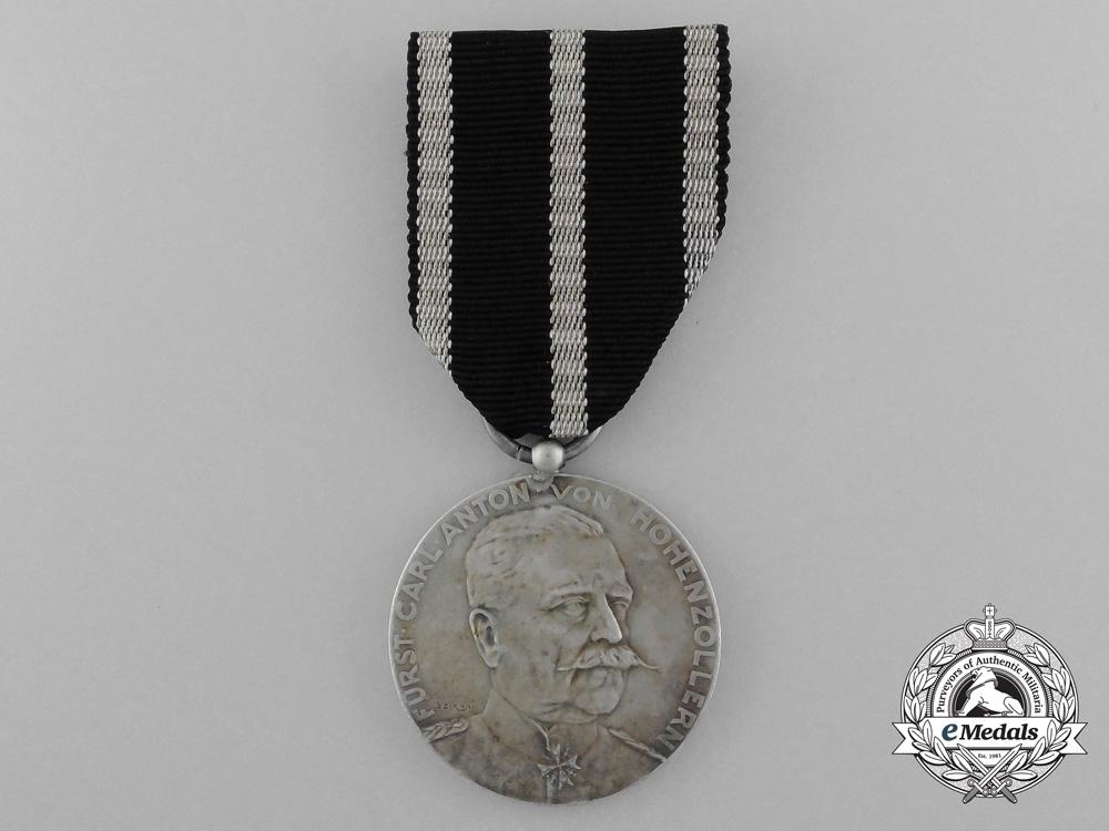 A 1911 Hohenzollern Silver Carl Anton Medal 1911