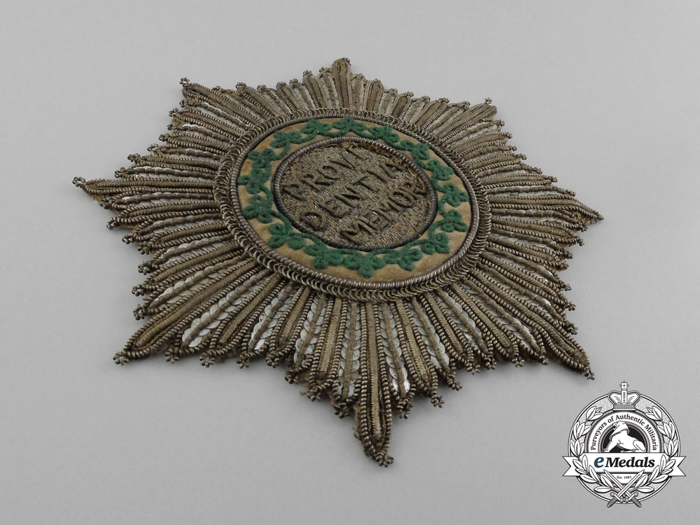 Saxony, Kingdom. A Royal House Order of the Rue Crown, Grand Cross, c.1825