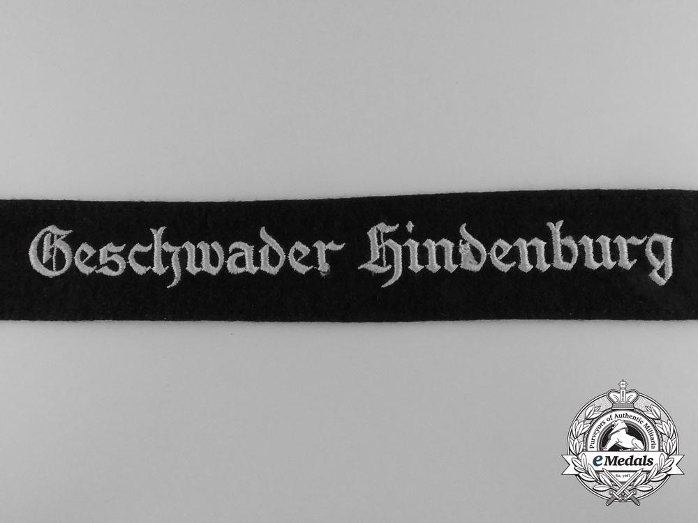 A Luftwaffe Geschvader Hindenburg Cufftitle