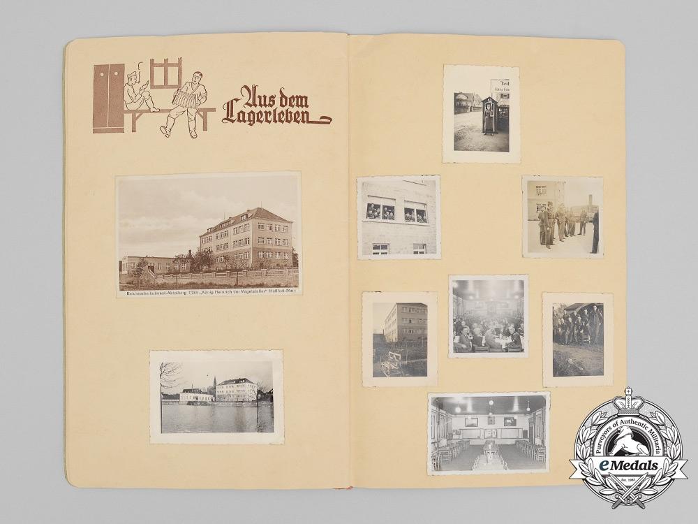 A RAD Arbeitsgau 28 Franken Regiment Photo Album