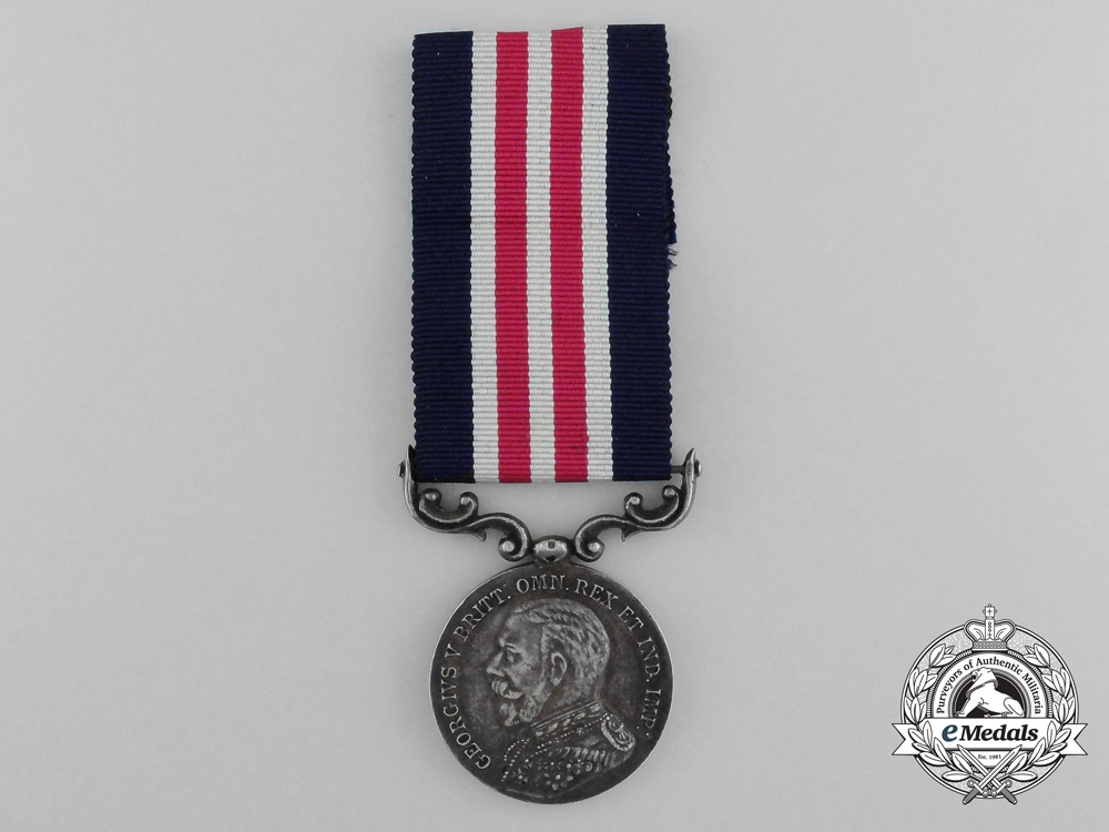 A First War George V French-Made Military Medal