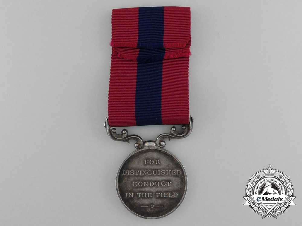 A First War French-Made Distinguished Conduct Medal; Reduced Size