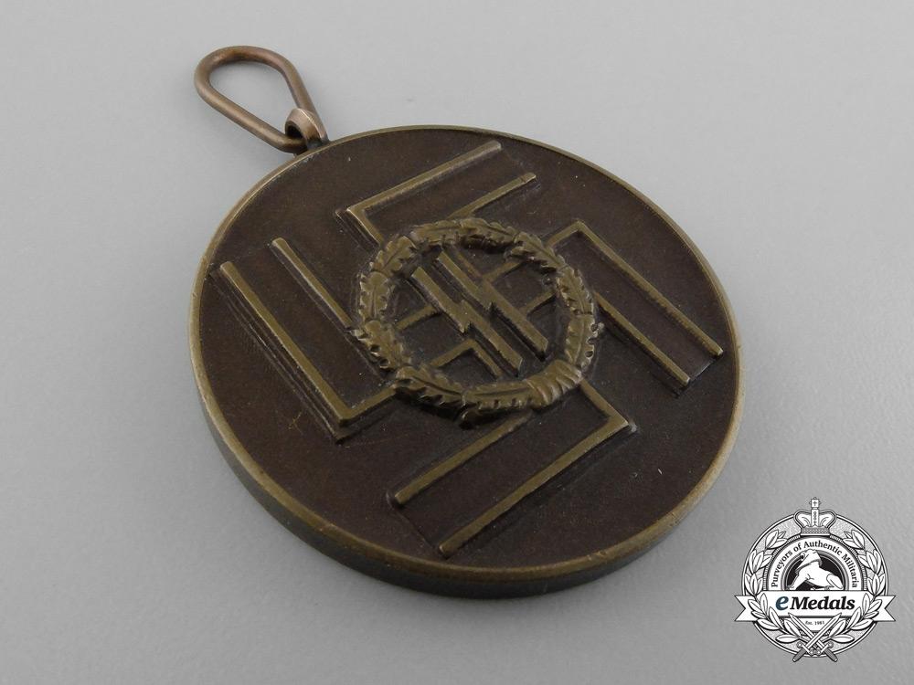 A Waffen-SS Eight Year's Faithful Service Award by Deschler