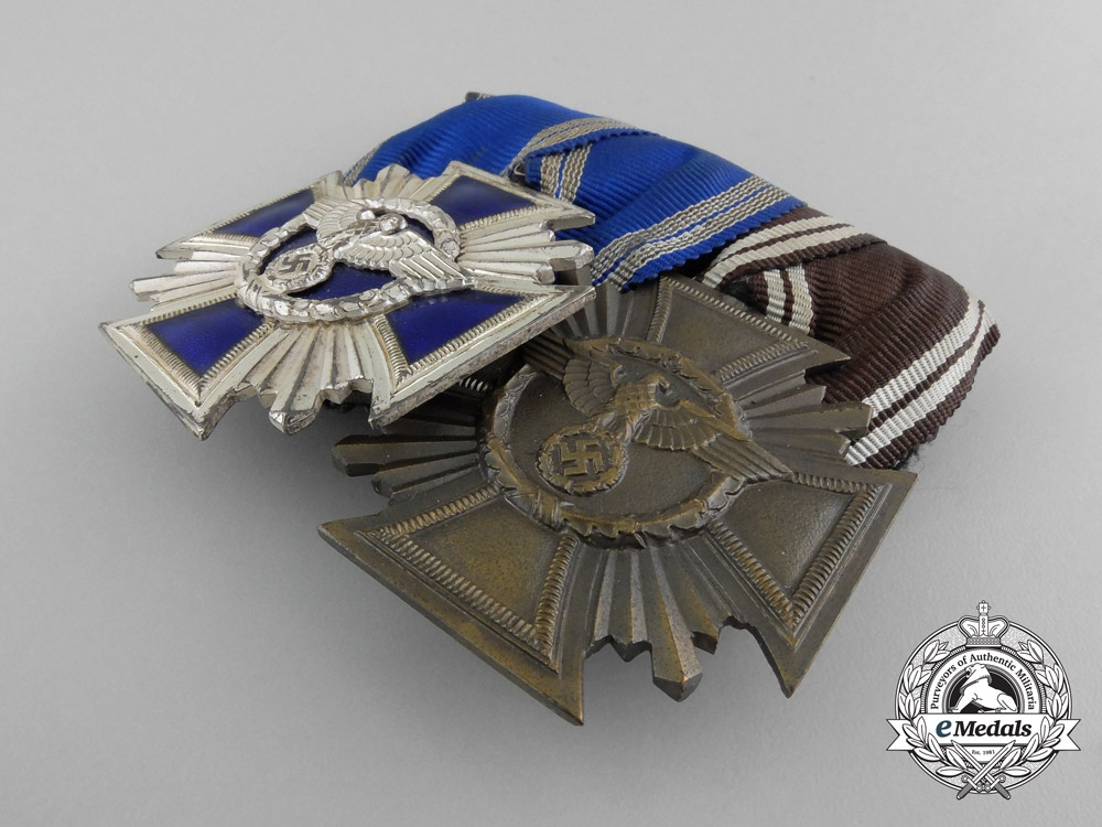 An Exquisite Group of Awards, Badges, & Membership Documents of Wilhelm Bahr and his Paramilitary Career