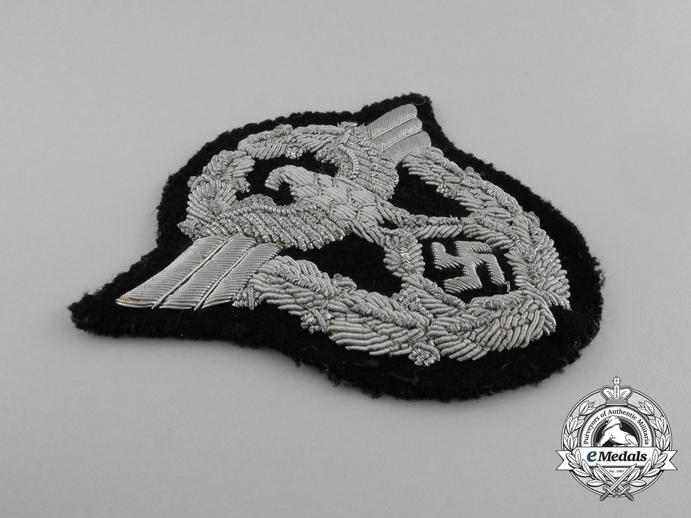 A Fire Protection Police Officer's Sleeve Eagle