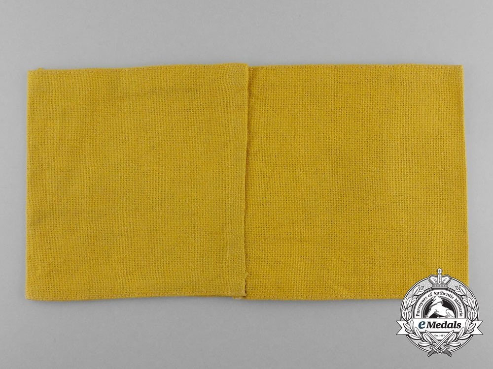 A Waffen-SS Auxiliary Member's Armband