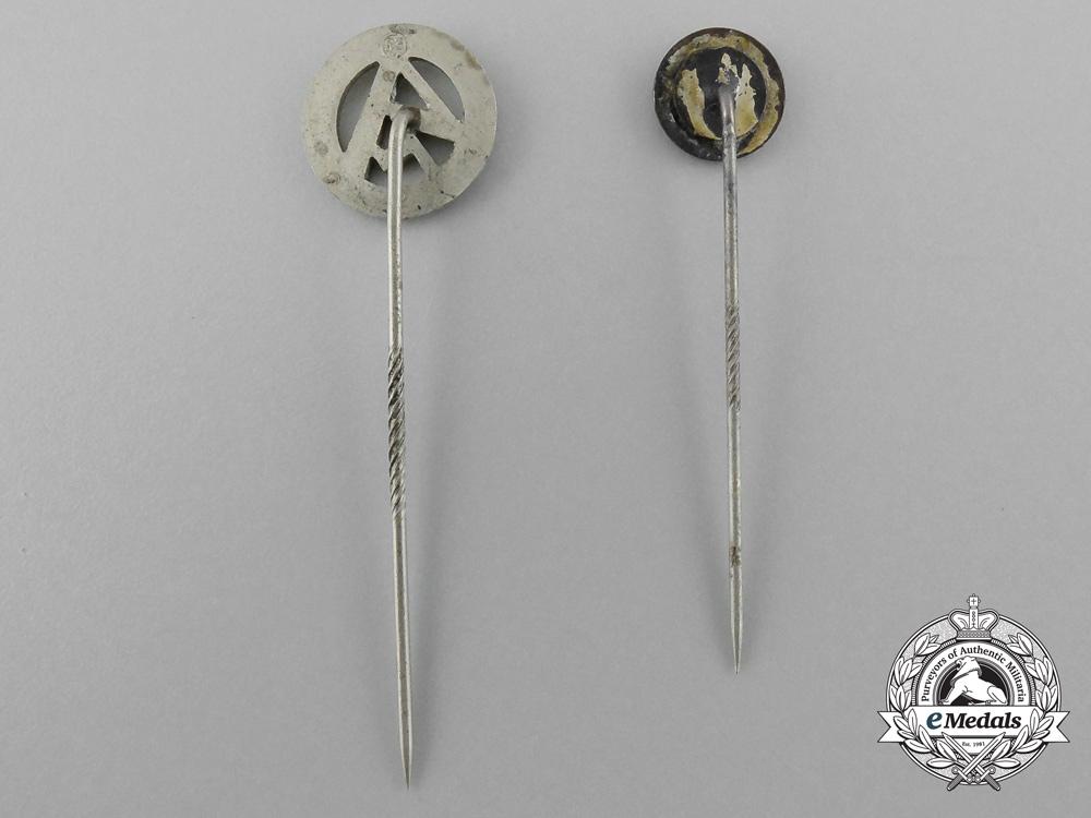A Lot of Two SA Stick Pins