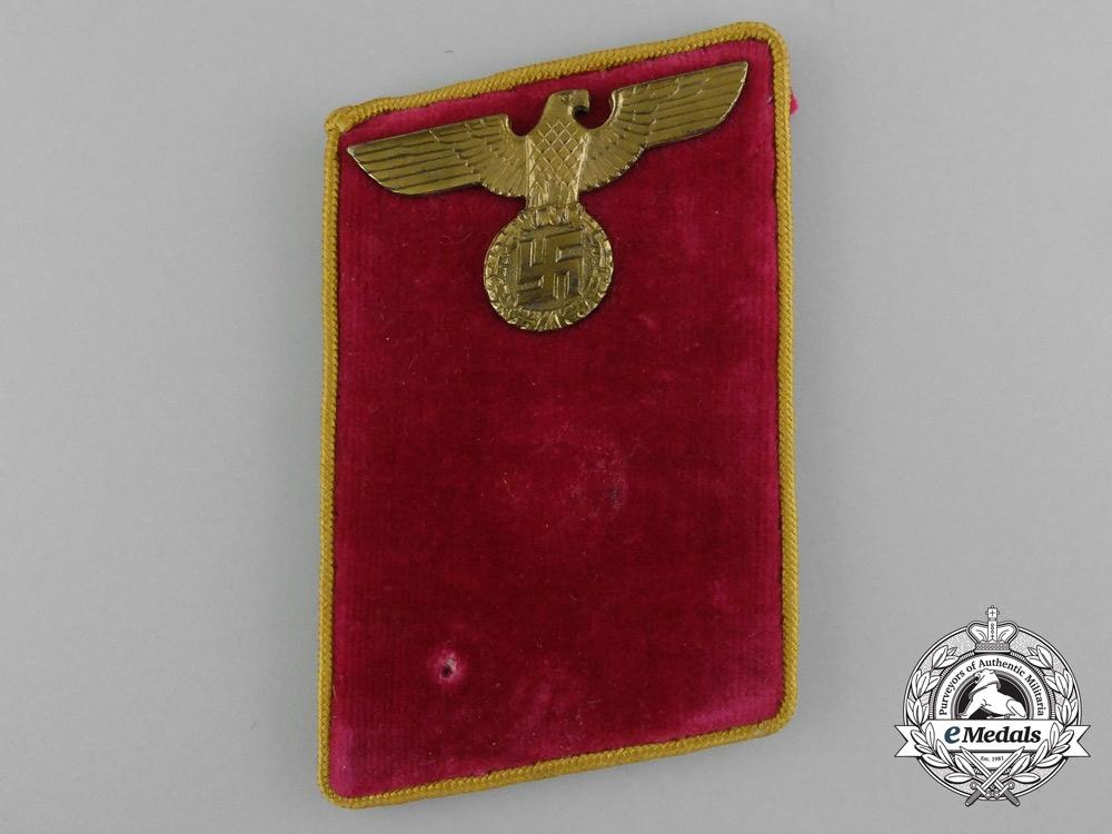 Germany. A Anwärter Level Abschnittsleiter Collar Tab; 1939-1945