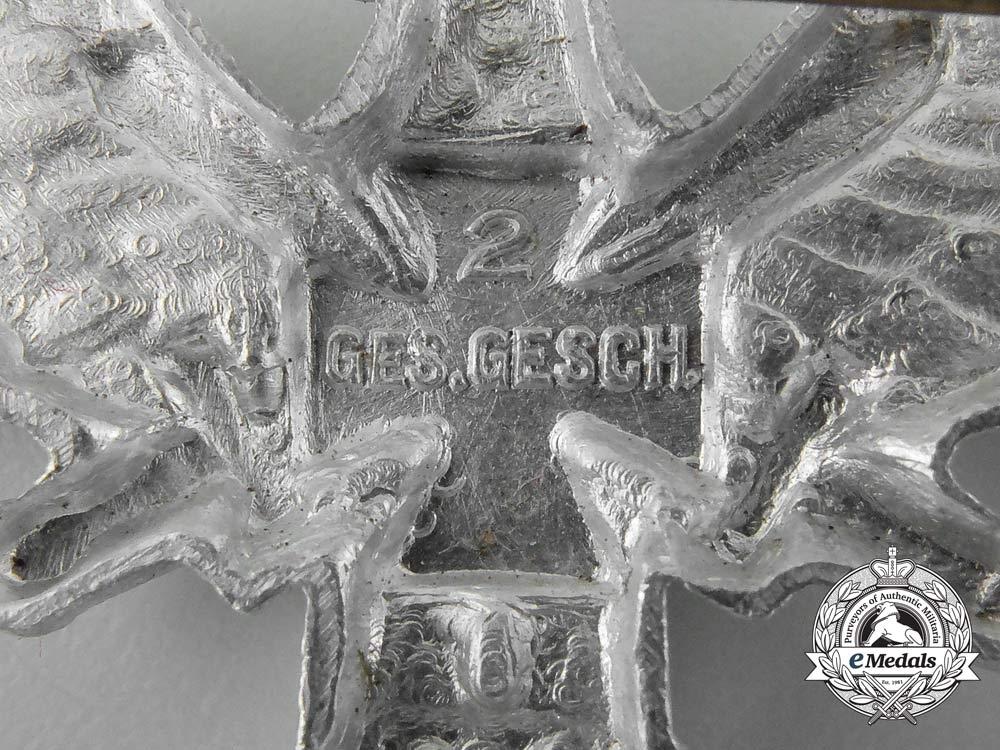 A German Third Reich Era Reichskriegerbund Veteran's Association Breast Eagle Insignia