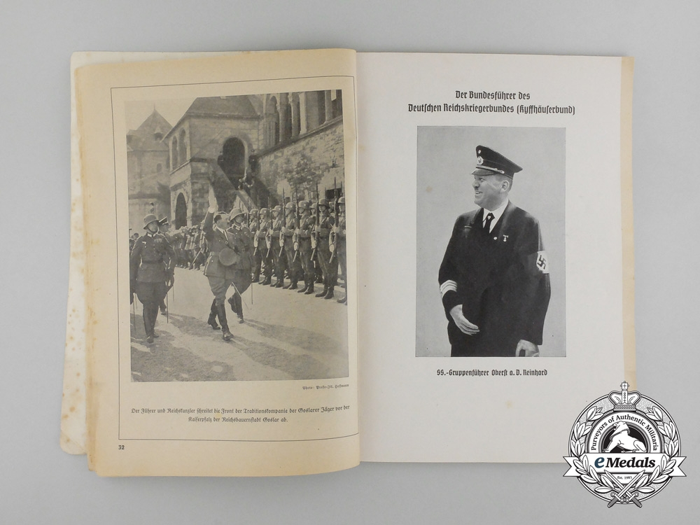 A 1938 Wehrmacht (Baden) Soldier's Calendar