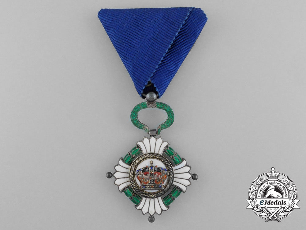 An Order of the Yugoslav Crown; Knight (1929-1941)