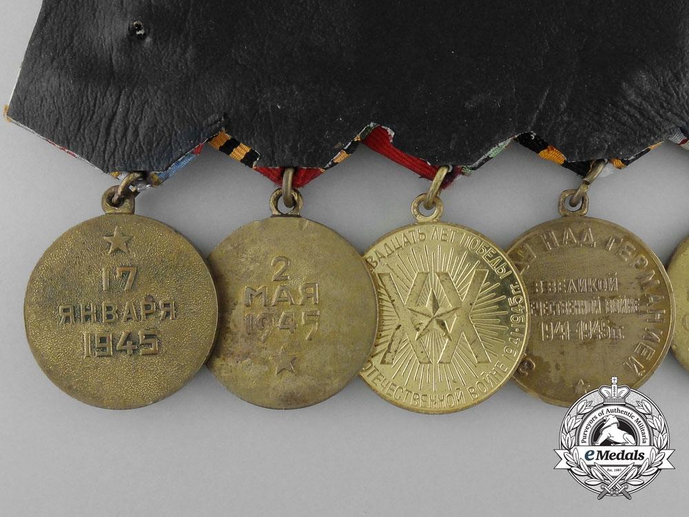 A Soviet Russian Order of Glory Medal Bar