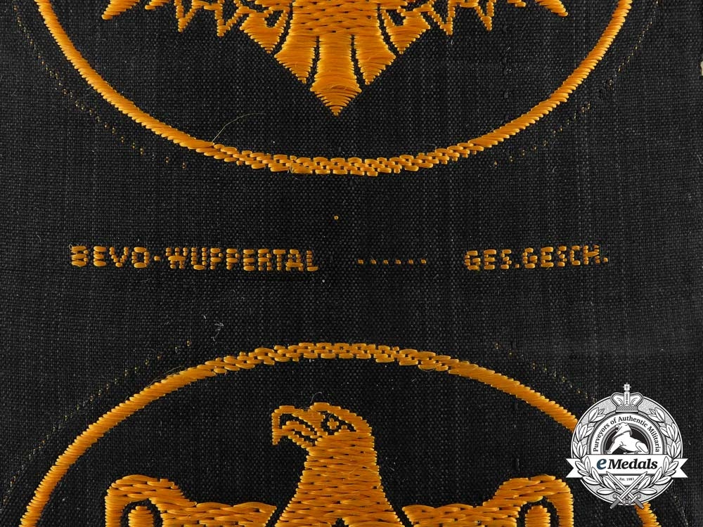 A Lot of Three Mint and Unissued DRL Proficiency Badges in Cloth; Bronze Grade by BeVo Wuppertal