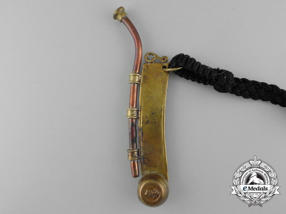 A German Imperial Bosun's Whistle (Boatswain's Pipe)