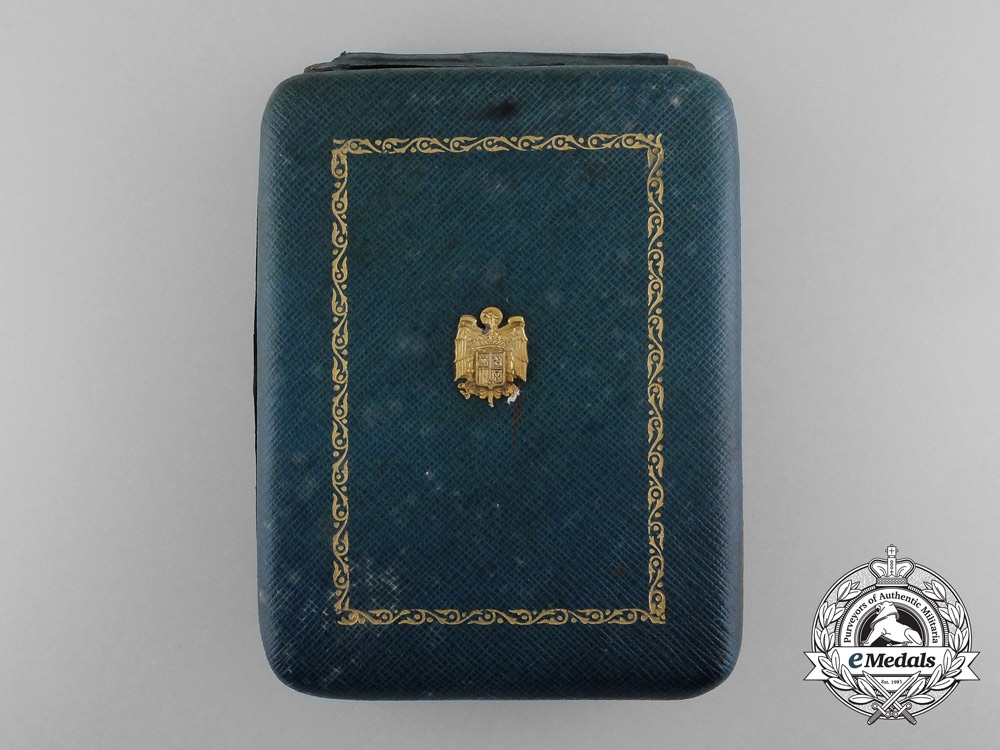 A Spanish Civil Order of Alfonso X the Wise; Grand Cross with Case