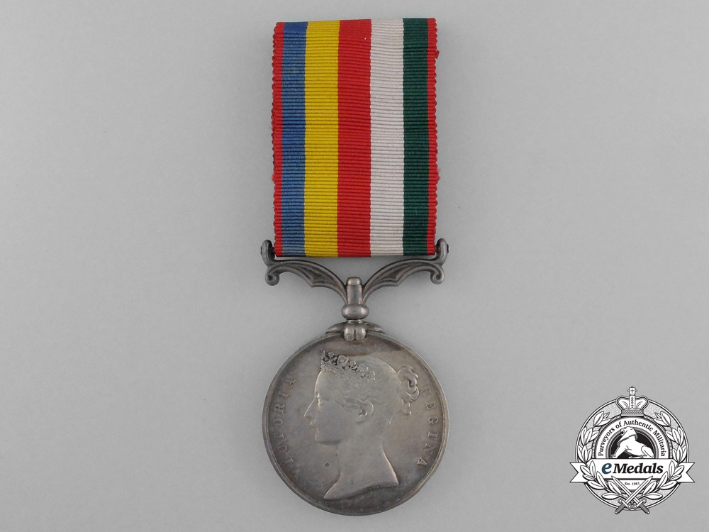 An 1861 Second China Medal