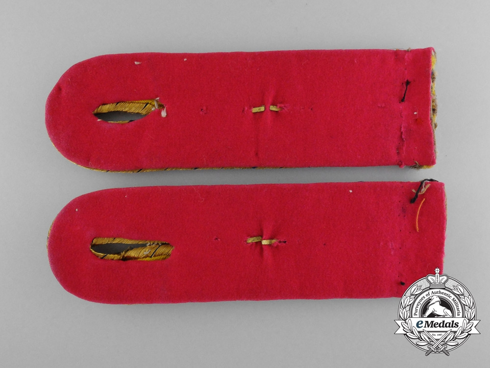 A Set of Prussian State Railways Shoulder Board Pair