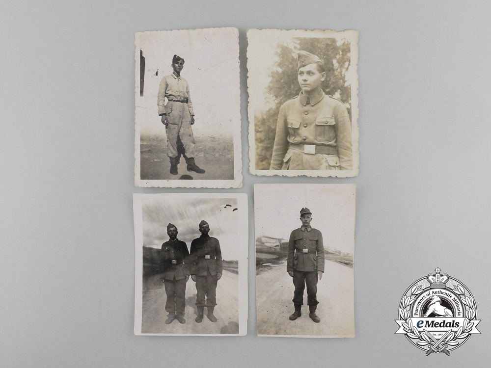 A Lot of 20 Second War German and Croatian Photographs