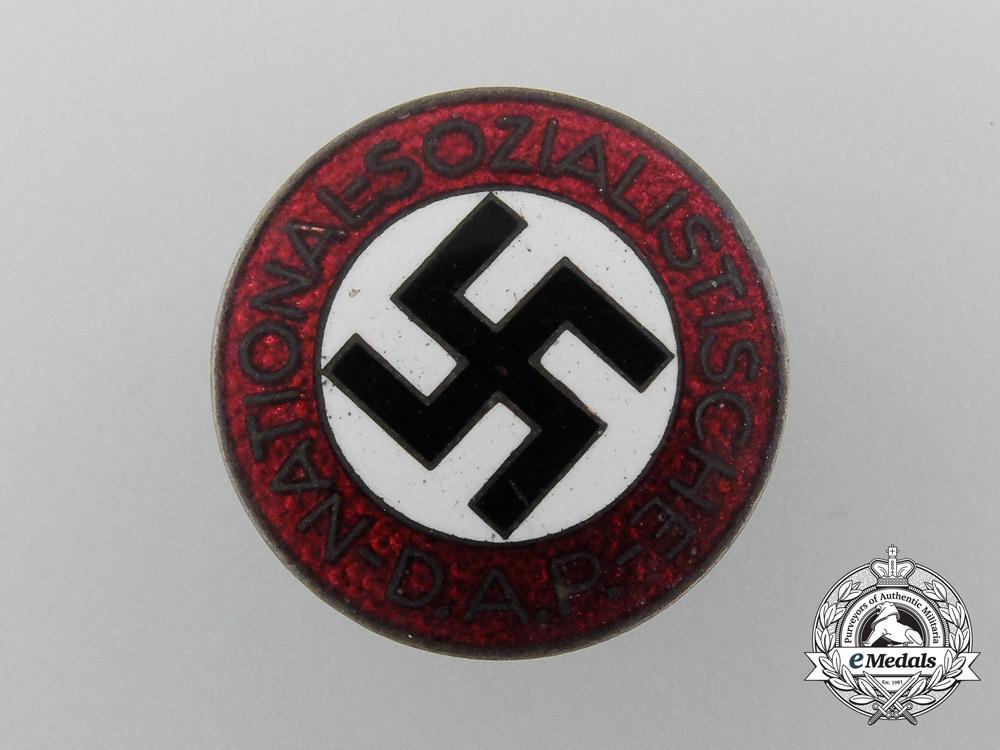 An NSDAP Party Member Lapel Badge by Kerbach & Israel (M1/42)