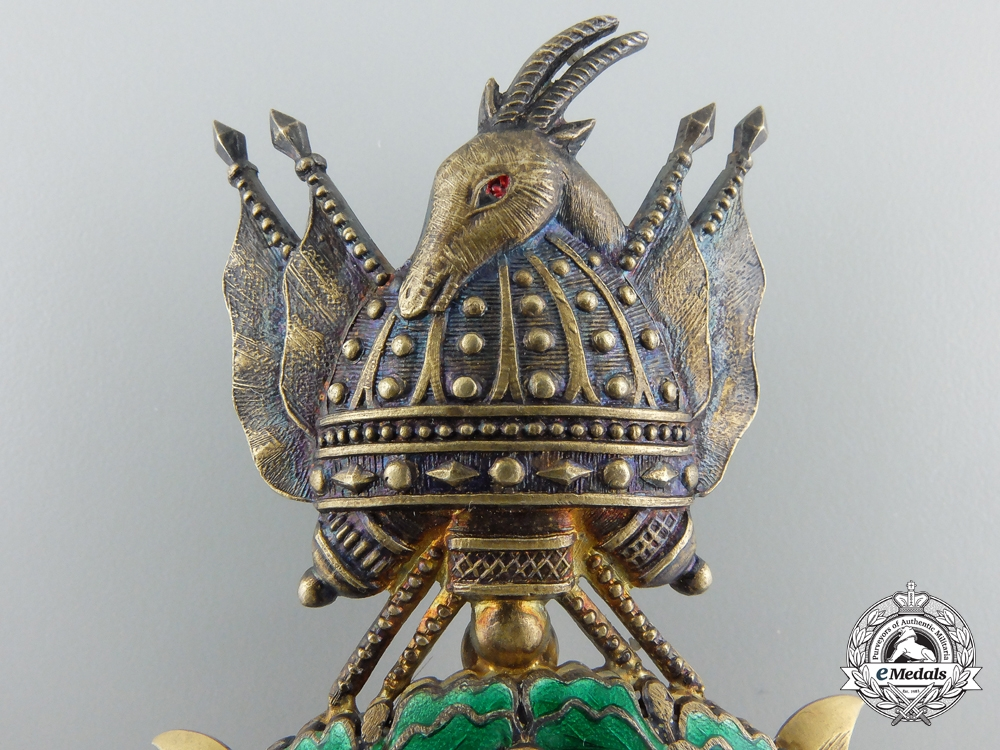 An Albanian Order of Scanderbeg; Officer's Badge