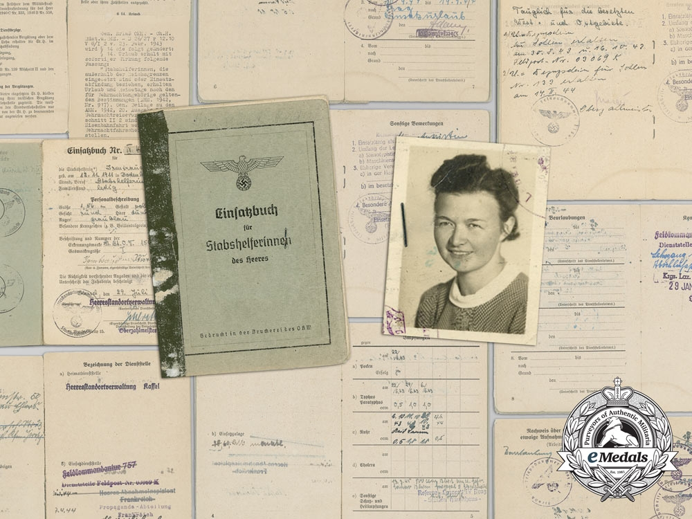 A Civil Assistant Employment Book; Working in the Propaganda Department in France