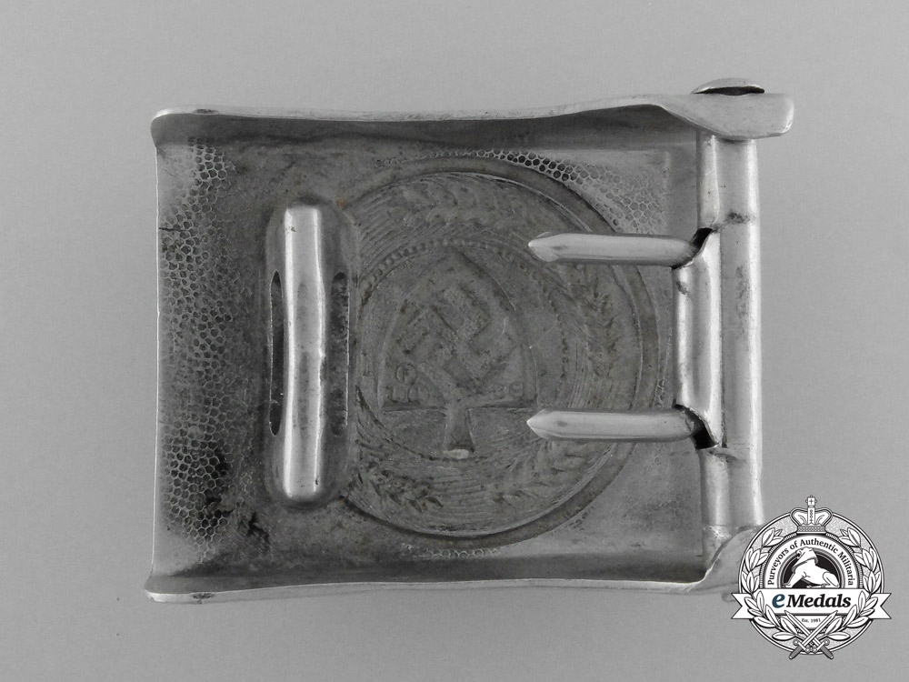 Germany, RAD.An Enlisted Man's Belt Buckle, by Richard Sieper & Söhne