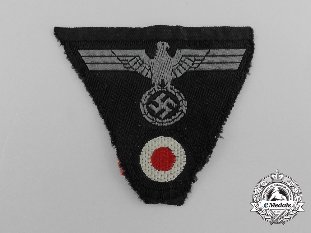 A Mint Wehrmacht M-43 Cap Insignia