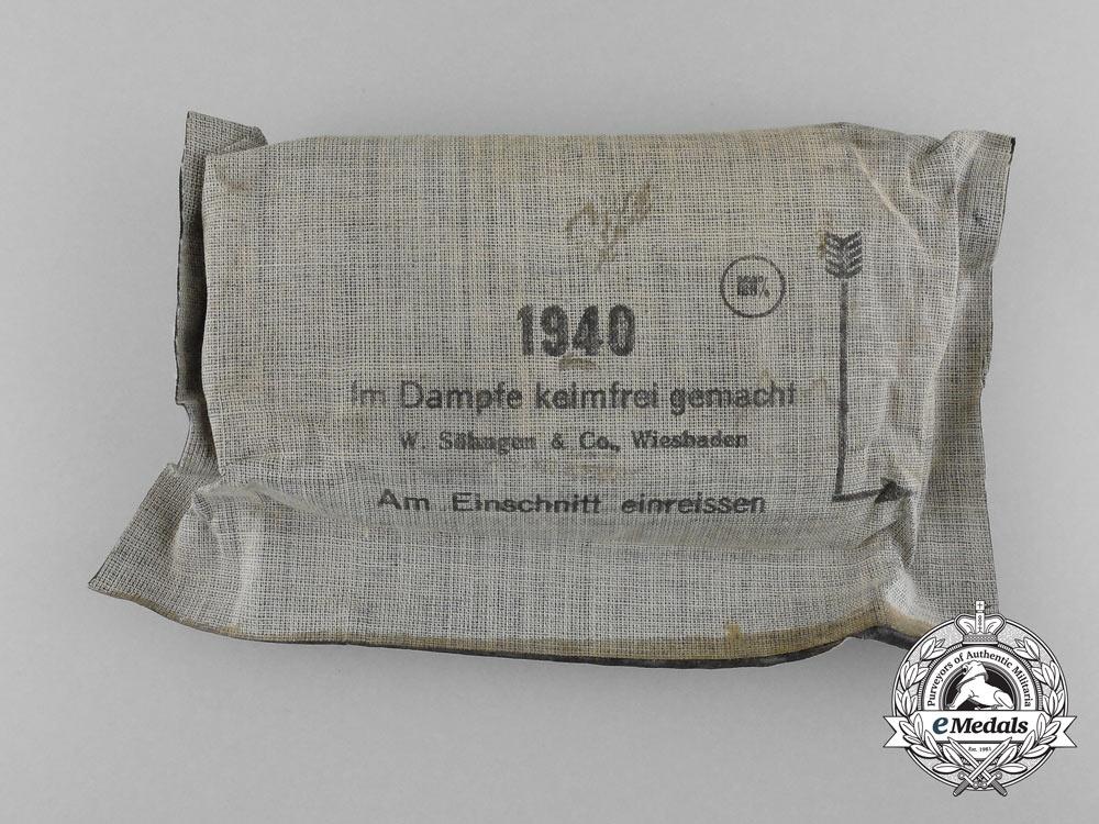 A Second War German Field Dressing 1940, Unused