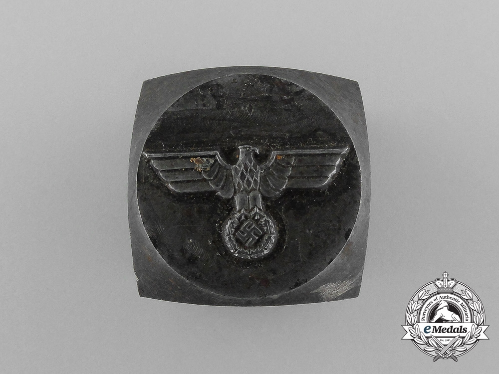 A Manufacturing Die for a Second War German Political Eagle