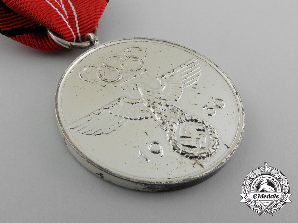 A 1936 Berlin Olympic Games Commemorative Medal