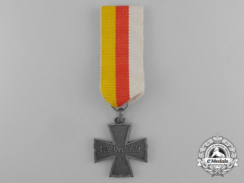 An Austrian Carinthian General Cross for Bravery; 2nd Class 1918-1919