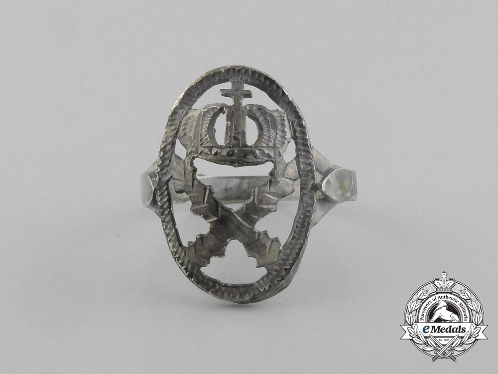 A First War Period German Imperial Patriotic Ring