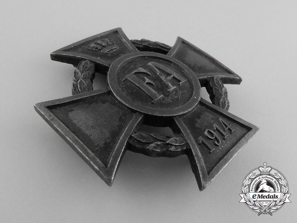A First War Oldenburg Friedrich August Cross; 1st Class
