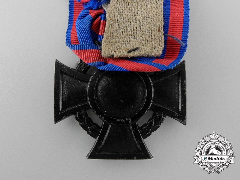 A First War Oldenburg Friedrich August Cross; 2nd Class
