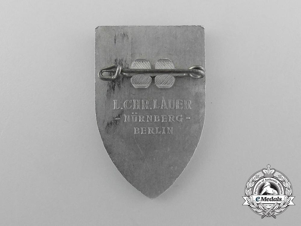 A 1938 Bremen Reichs-Kolonialtagung Badge by L. Christian Lauer
