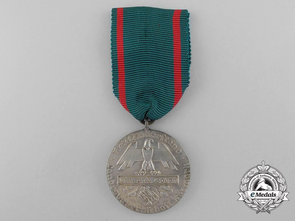 """A Blut und Boden Landesbauernschaft Region Kurmark """"For Loyal Participation"""" Award"""
