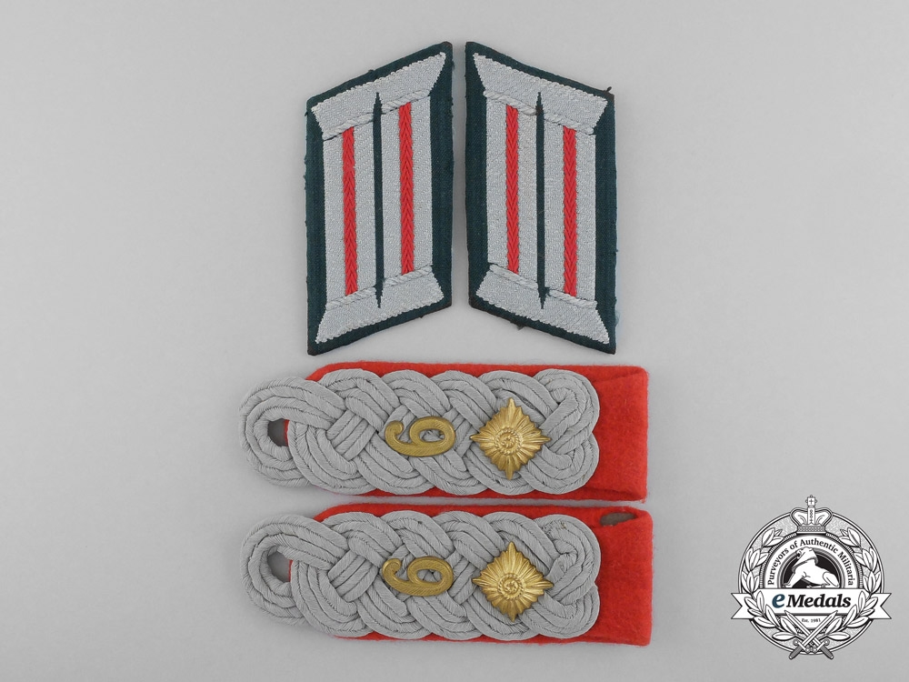 A Grouping of Wehrmacht Artillery Insignia