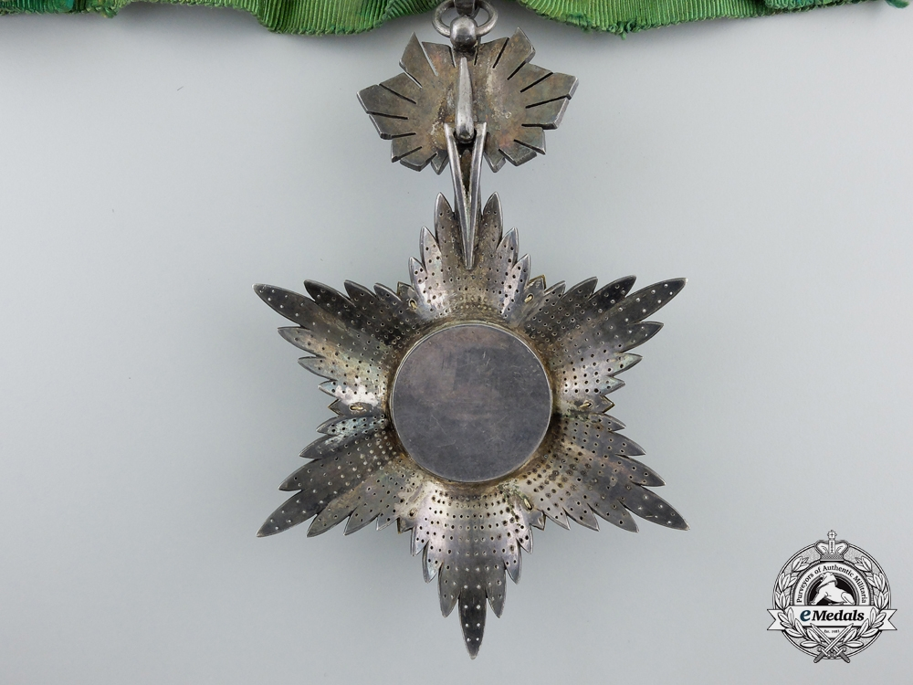 An Iranian Order of the Lion and Sun; 3rd Class Commander