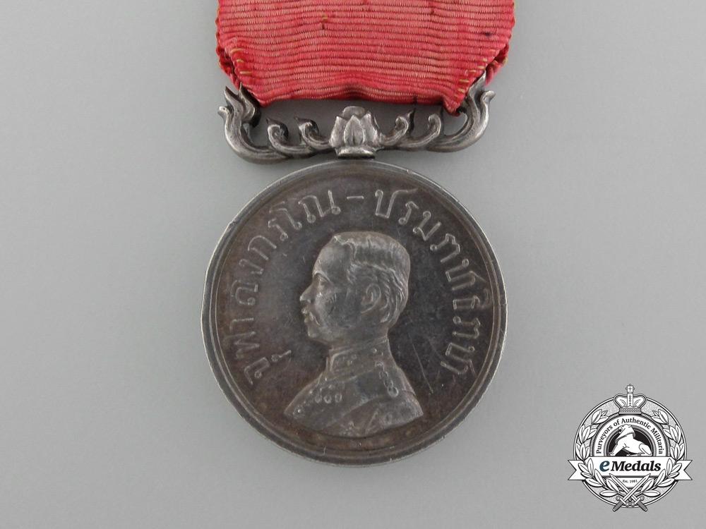 A Thai Rama V Royal Household Merit Medal 2nd Class, c. 1900